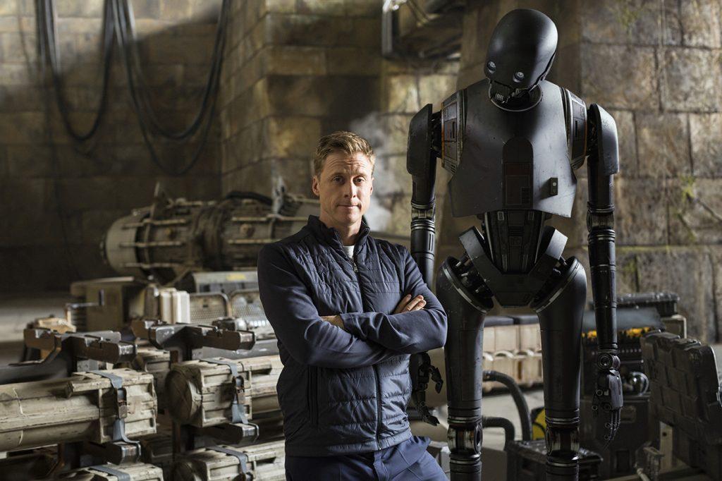Rogue One Interviews Mads Mikkelsen (Galen Erso) & Alan Tudyk (K-2SO)