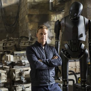 Rogue One Interviews Mads Mikkelsen (Galen Erso) & Alan Tudyk (K-2SO)
