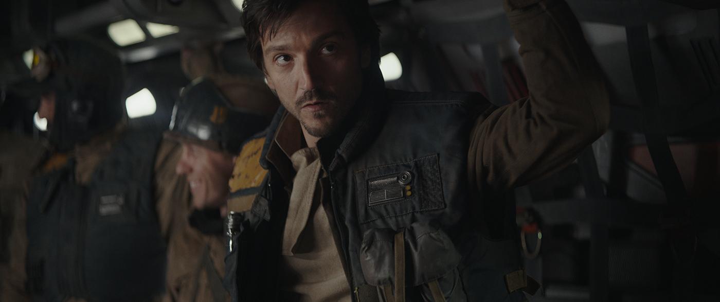 Rogue One: A Star Wars Story..Cassian Andor (Diego Luna)