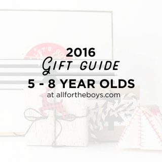 Gift Guide 2016: 5-8 Year Olds