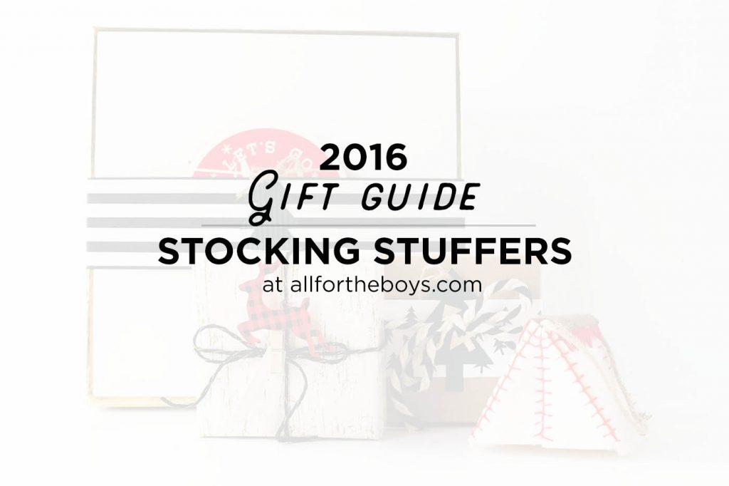 Gift Guide 2016: Stocking Stuffers