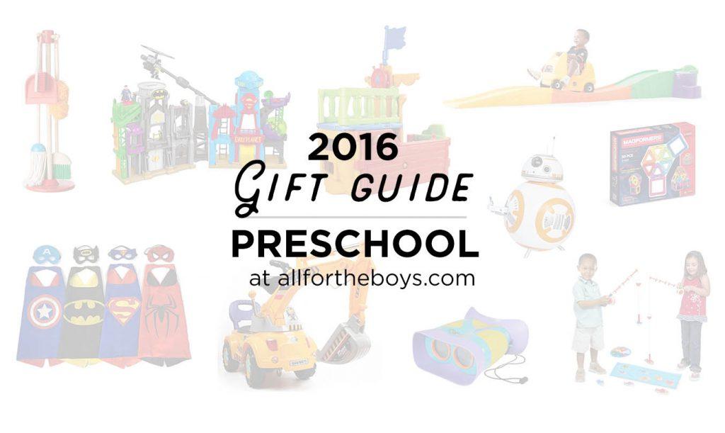Gift Guide 2016: Preschool