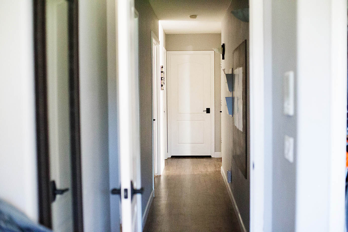 New Schlage interior doorknobs
