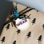 Want, need, wear, read printable tags