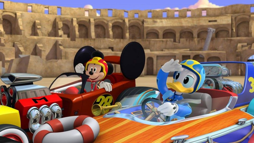 Mickey and the Roadster Racers + Racing Mickey Ears!
