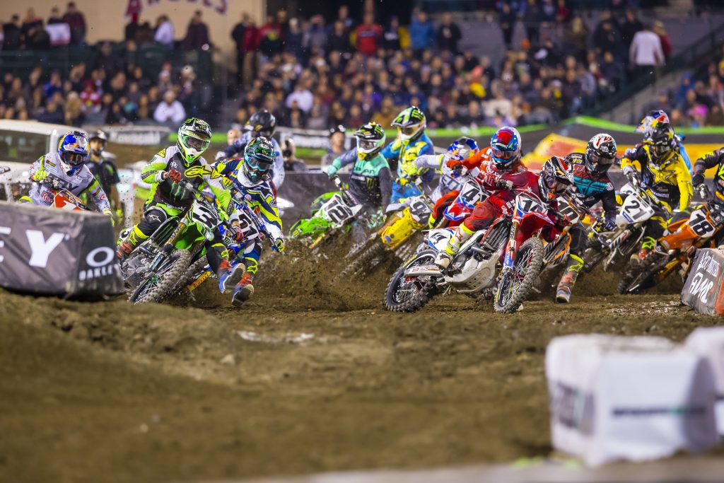 Supercross in Phoenix + Kids Motocross Activity