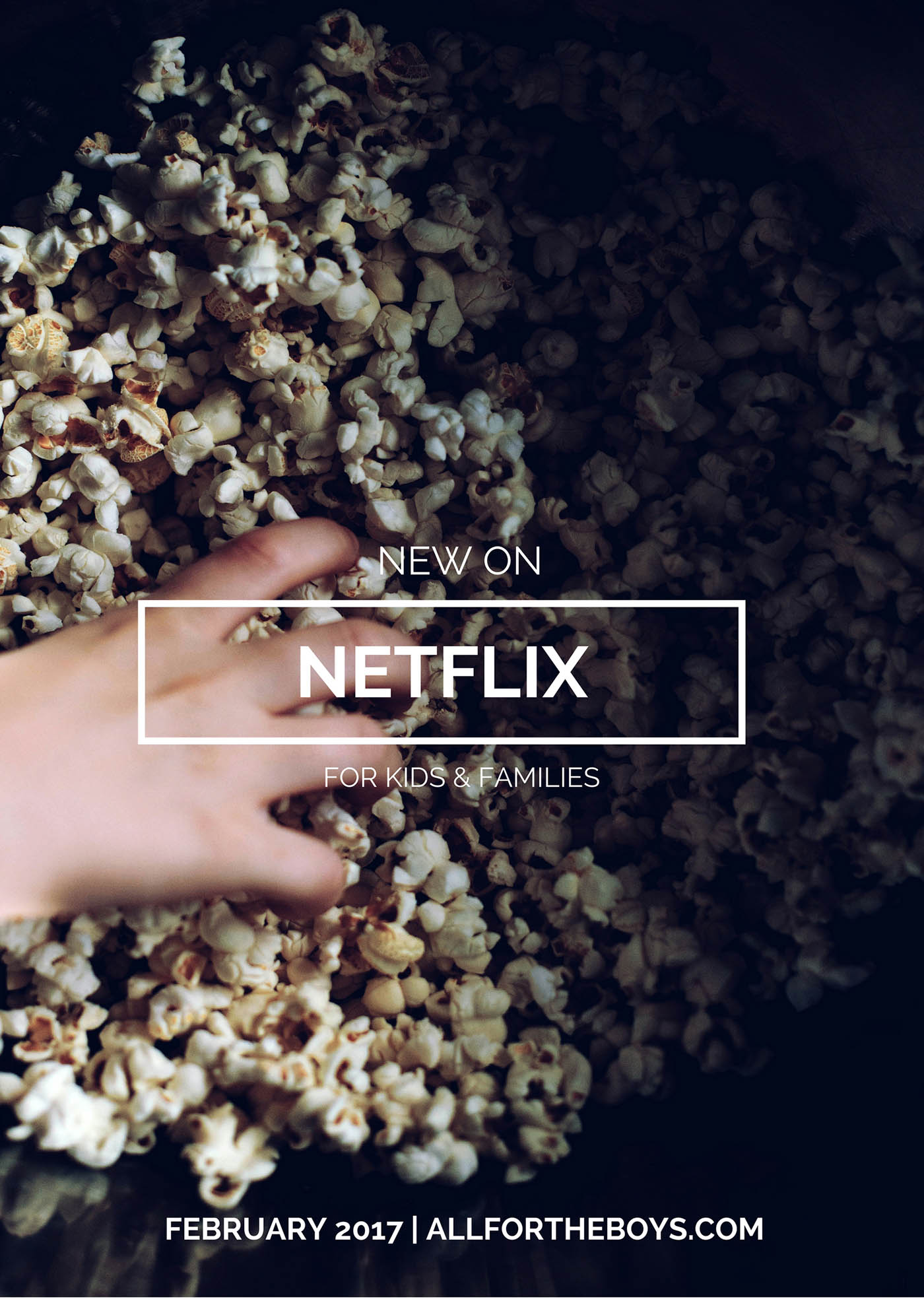 What's new on Netflix for February 2017 plus the full list of Disney movies and shows you can stream online!