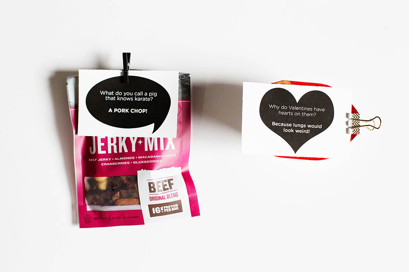 Free printable valentine jokes - a fun valentines day printable to hand out as is or attach to a treat