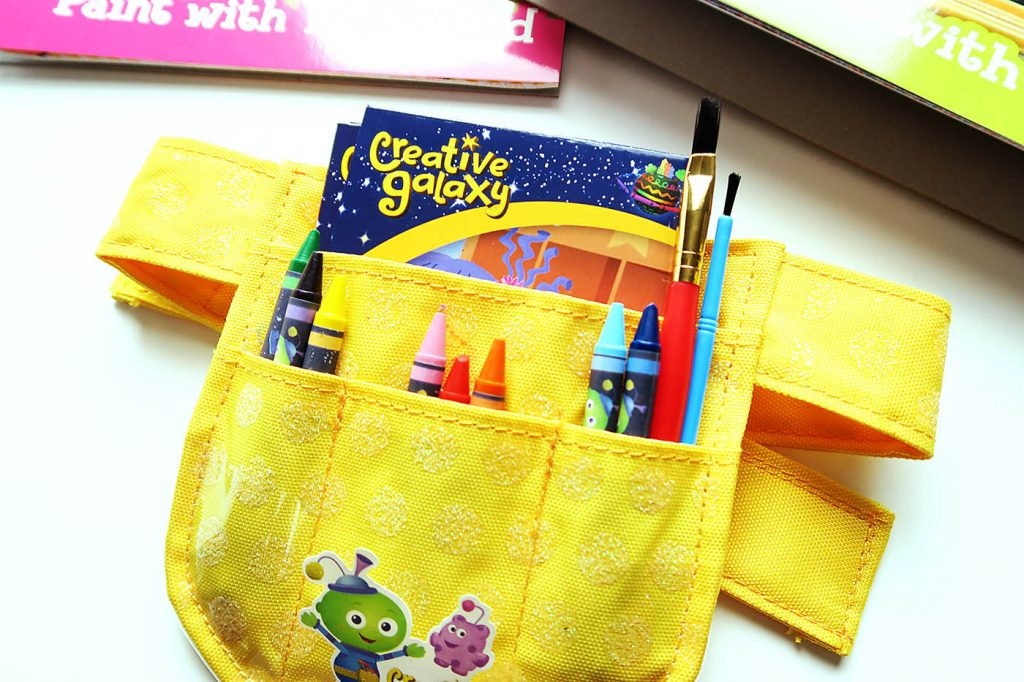 Creative Galaxy Arty's Tool Belt + DIY Heart Day Pop Up Card