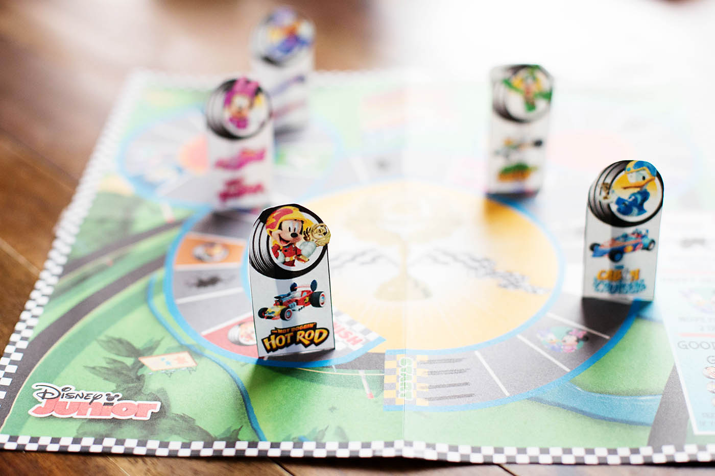 Mickey and the Roadster Racers printable game