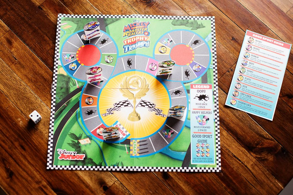 Play Mickey and the Roadster Racers Printable Game While You Watch the DVD