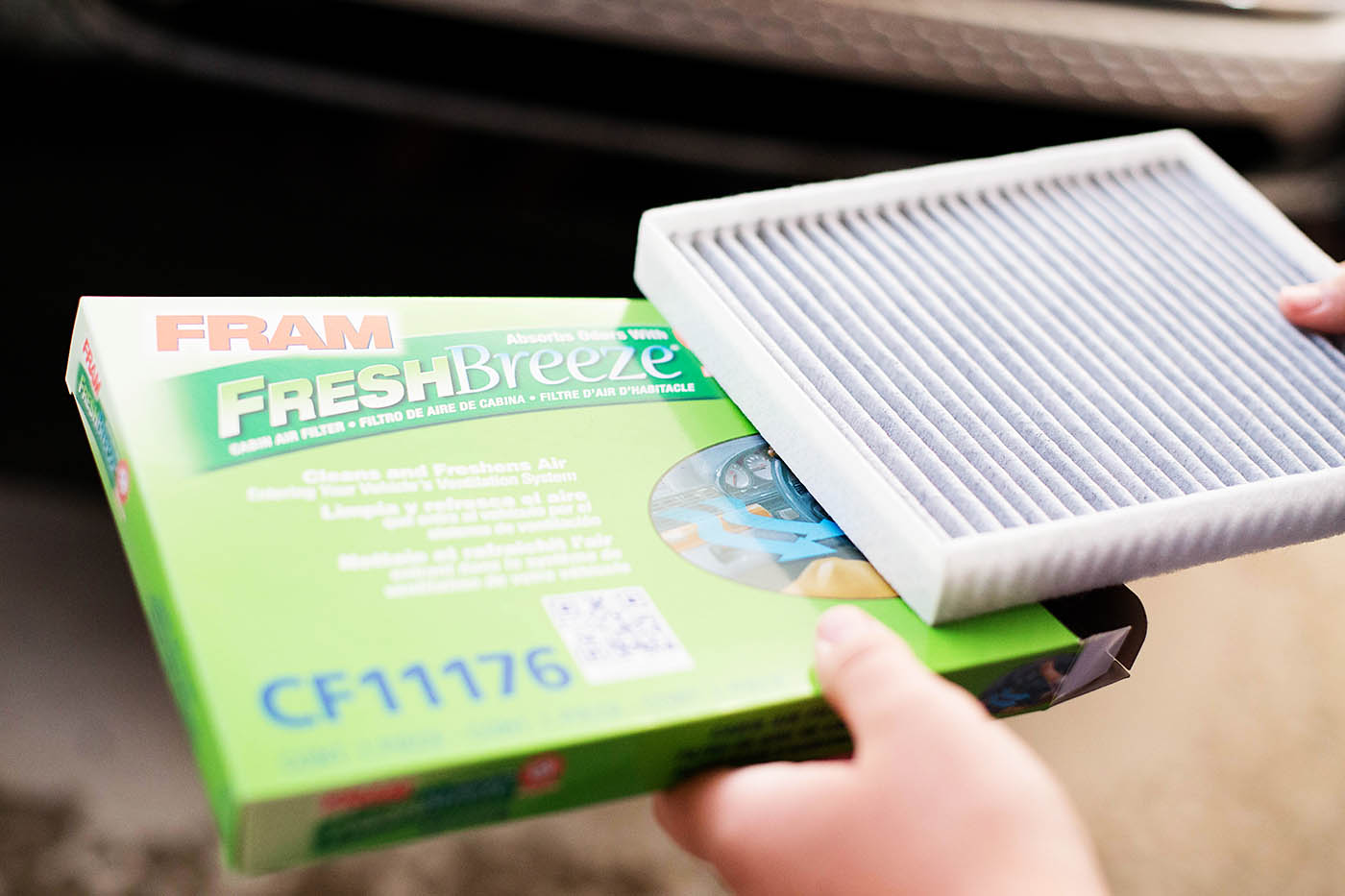 The Independent Teen: teaching car care & how to change the cabin air filter