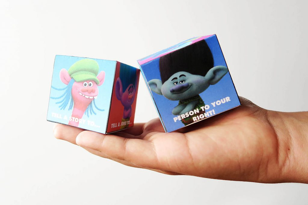 Trolls Printable Activities and Party Mode Blu-ray!