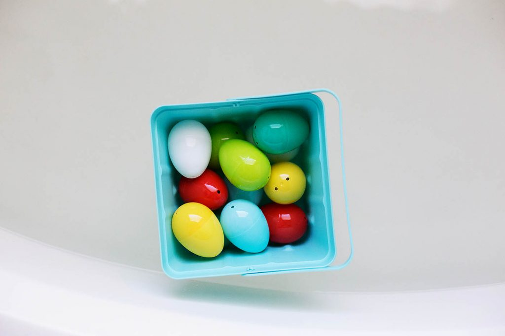 Plastic Easter Egg Bath Play Ideas