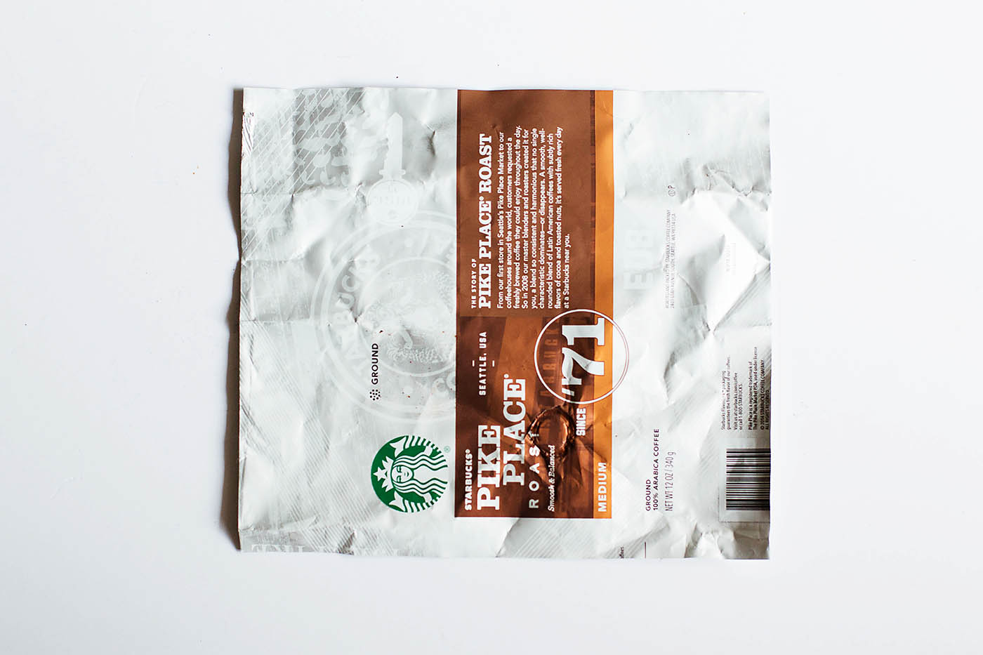 DIY origami wallet from a coffee bag!