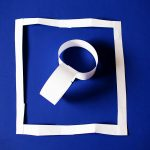 Paper rings to rectangle trick to teach kids