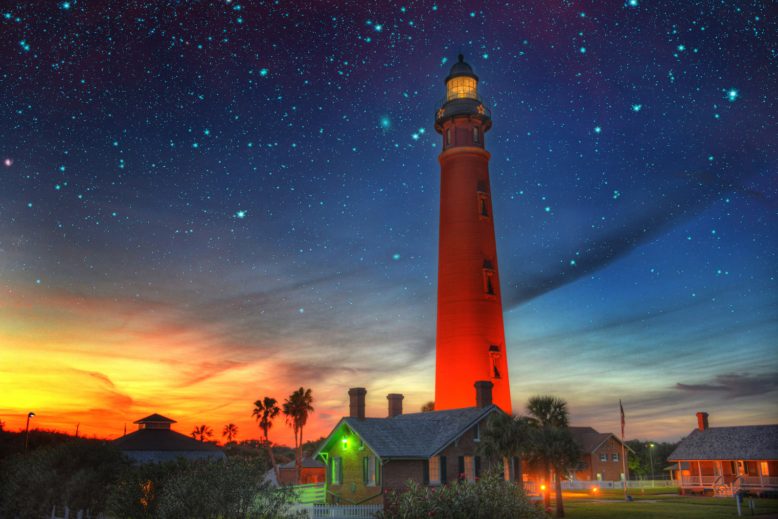 Ponce de Leon Inlet Lighthouse, the tallest lighthouse in Florida.