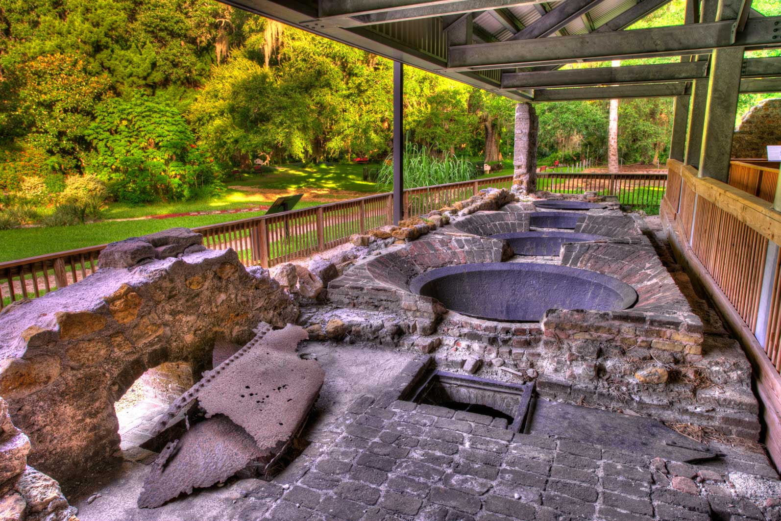 Sugar mill ruins abound in the Daytona Beach area and offer a glimpse into the history of early settlers.