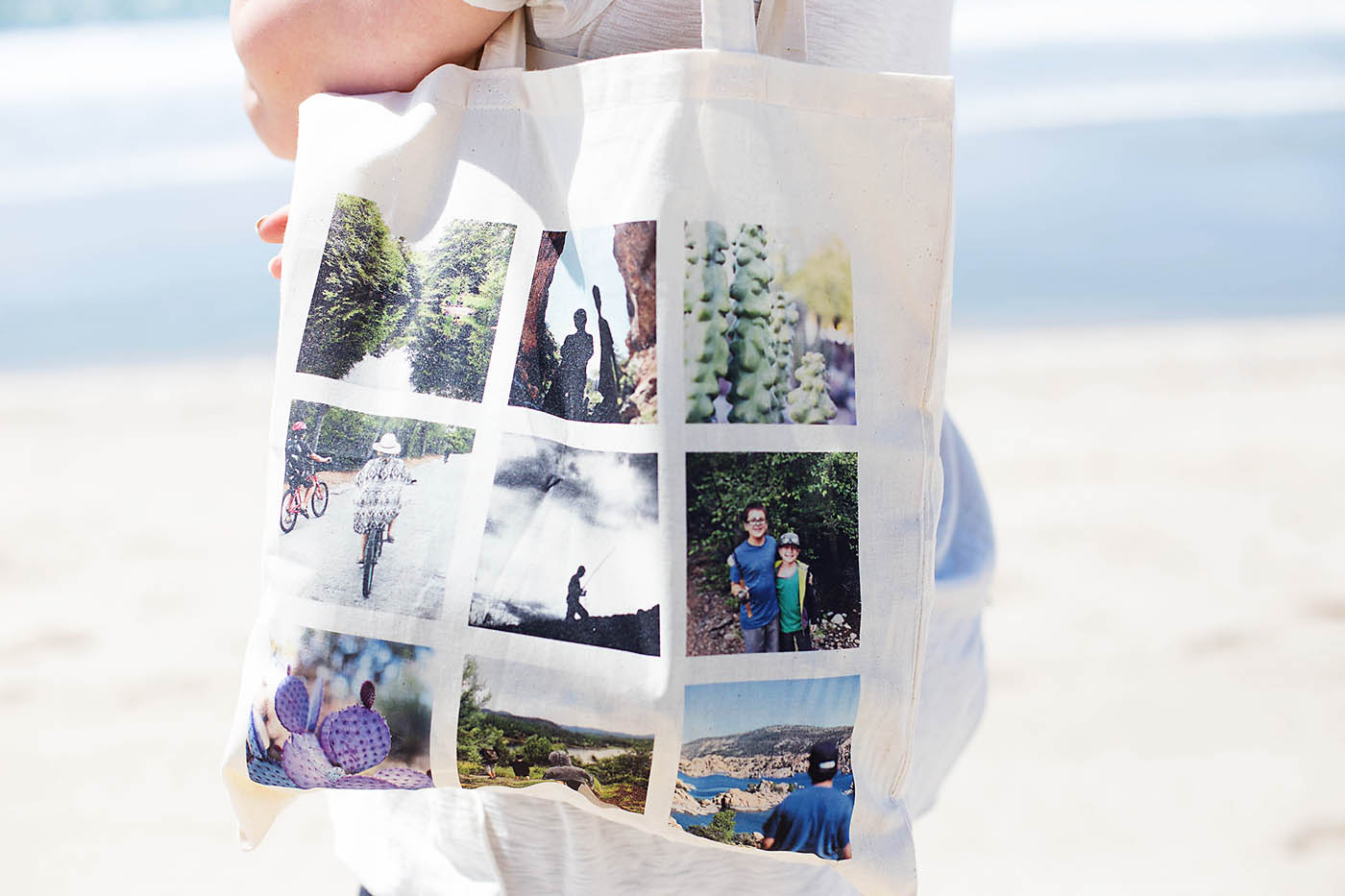 Snapfish custom adventures tote and mug + 60% off discount code!