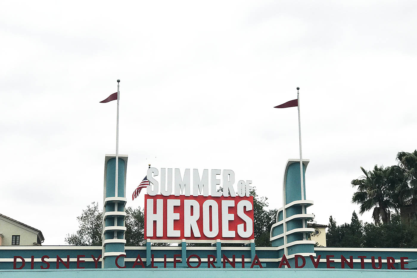 Summer of Heroes at California Adventure