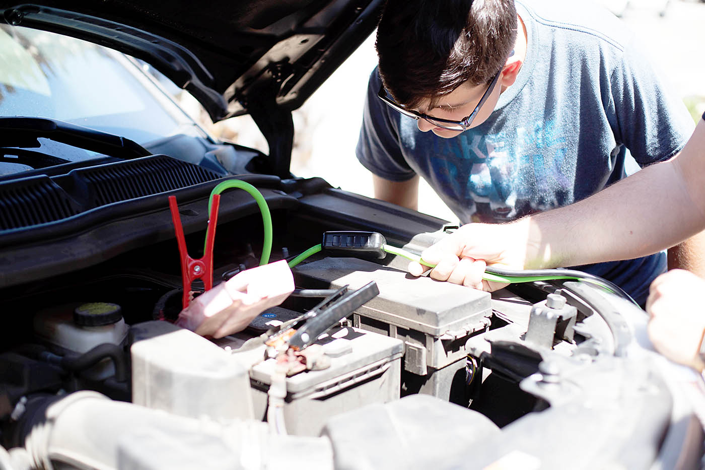 Raising an independent teen: creating a roadside kit for their first car