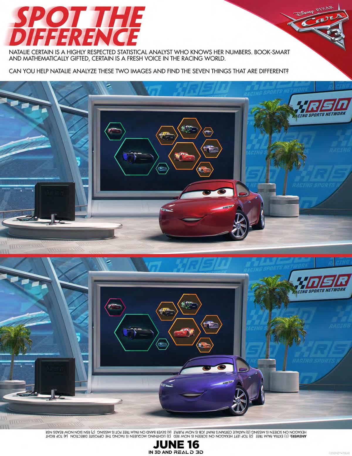 Cars 3 Matching