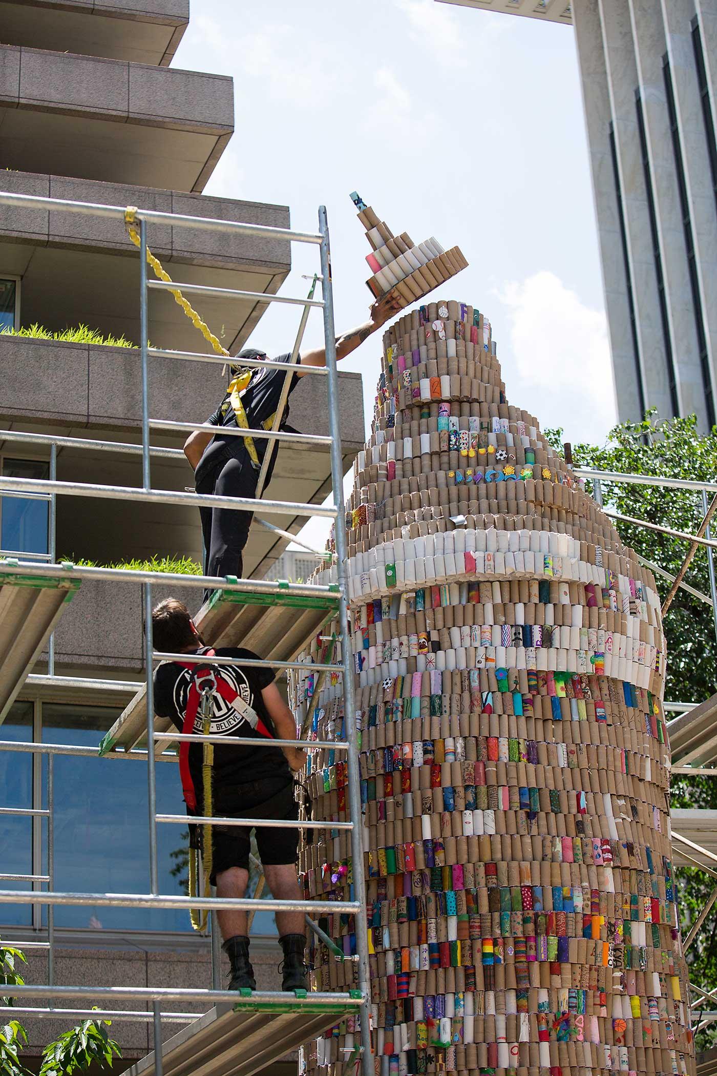 Nat Geo Kids and Toyota Hylander set a Guinness World Record