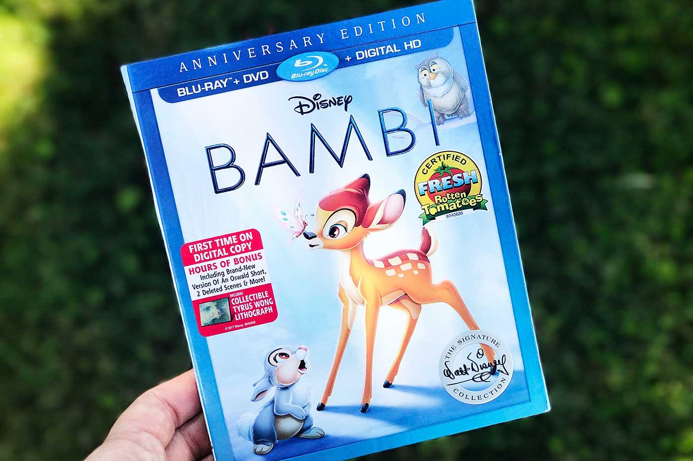 Bambi on Blu-ray