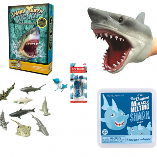 Gift ideas for shark lovers that are under $15 - perfect for Shark week!