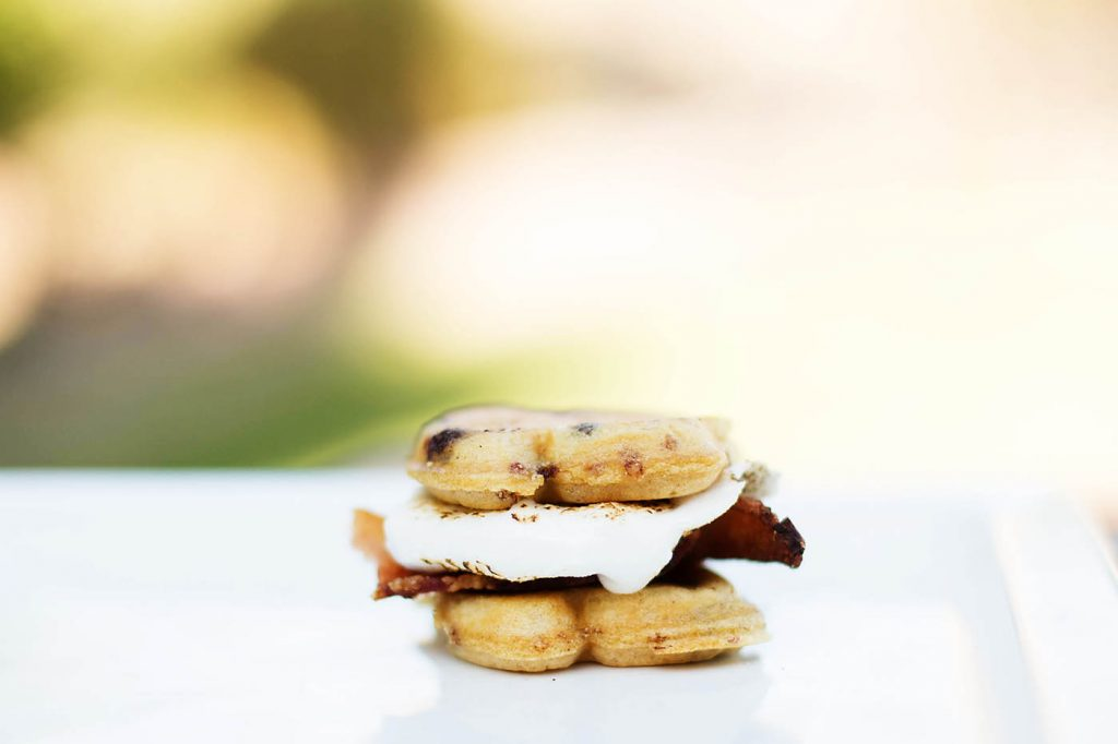 Bacon S'mores with Eggo Choco-Toast