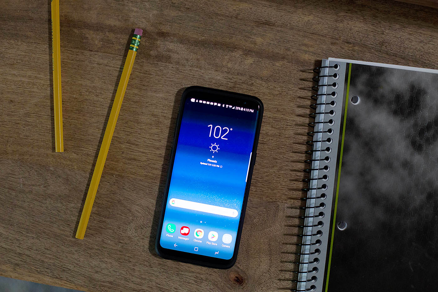 Tips for taking better back-to-school photos and paperwork organization with the Samsung Galaxy S8