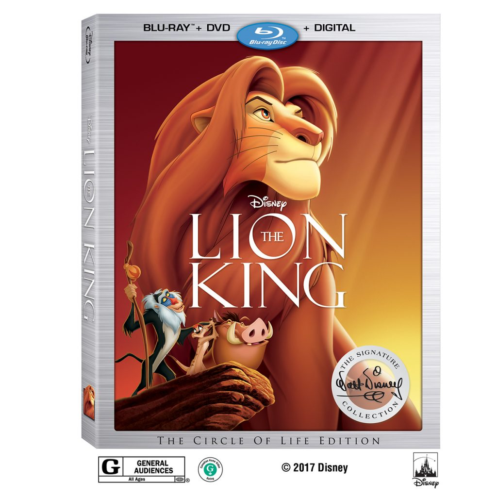 Lion King Signature Collection + Printable Coloring Pages & Activities