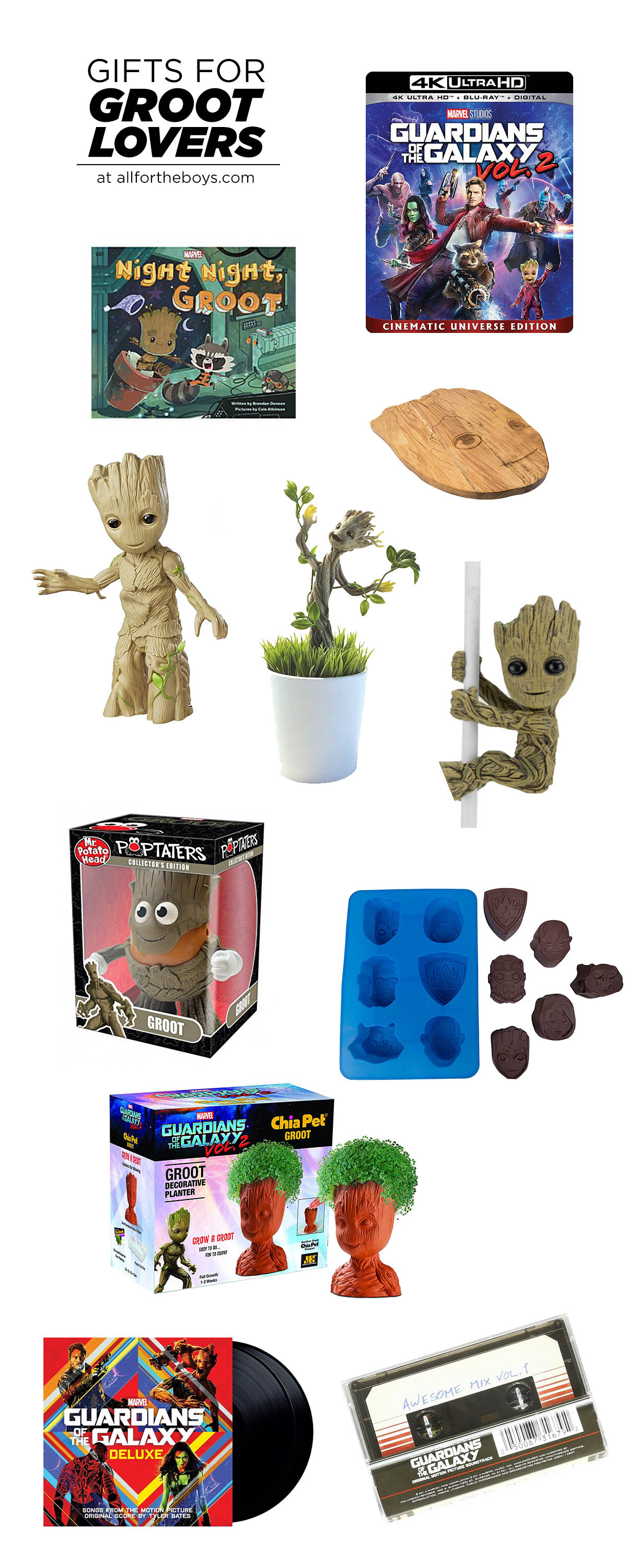 Gifts for Groot Lovers