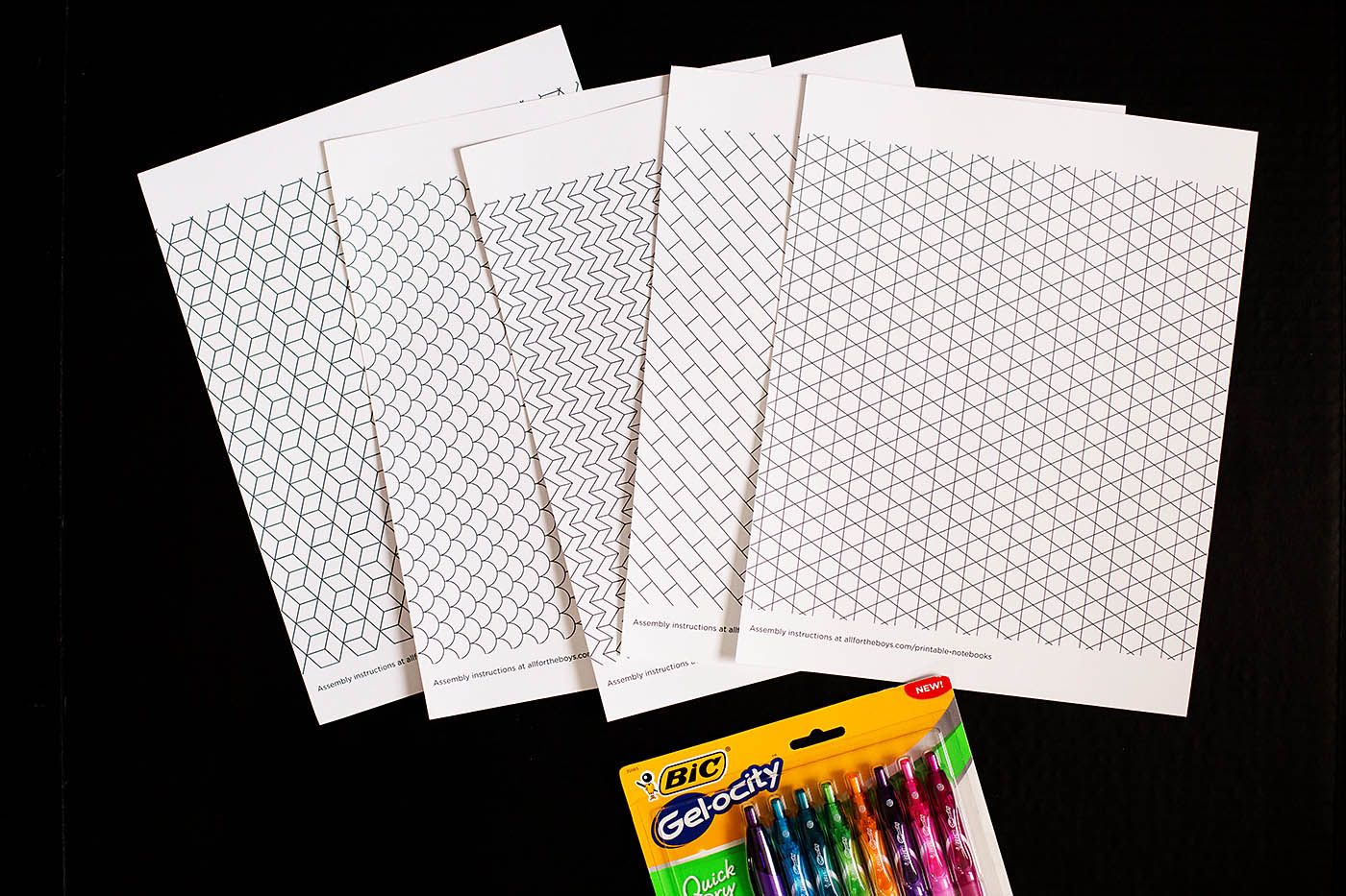 photo about Printable Notebooks referred to as Do-it-yourself Printable Doodle Notebooks All for the Boys