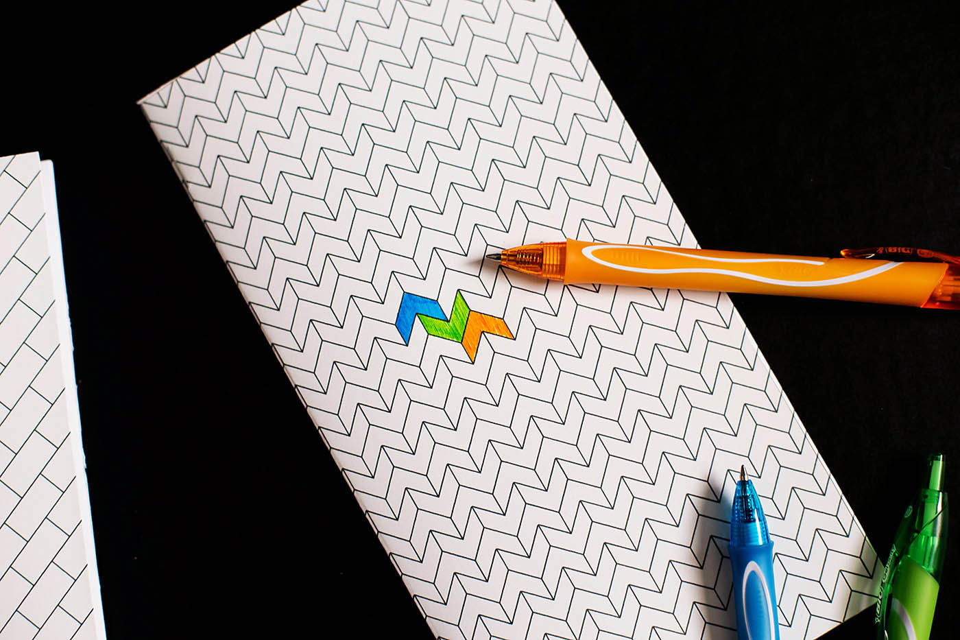 DIY printable doodle notebooks