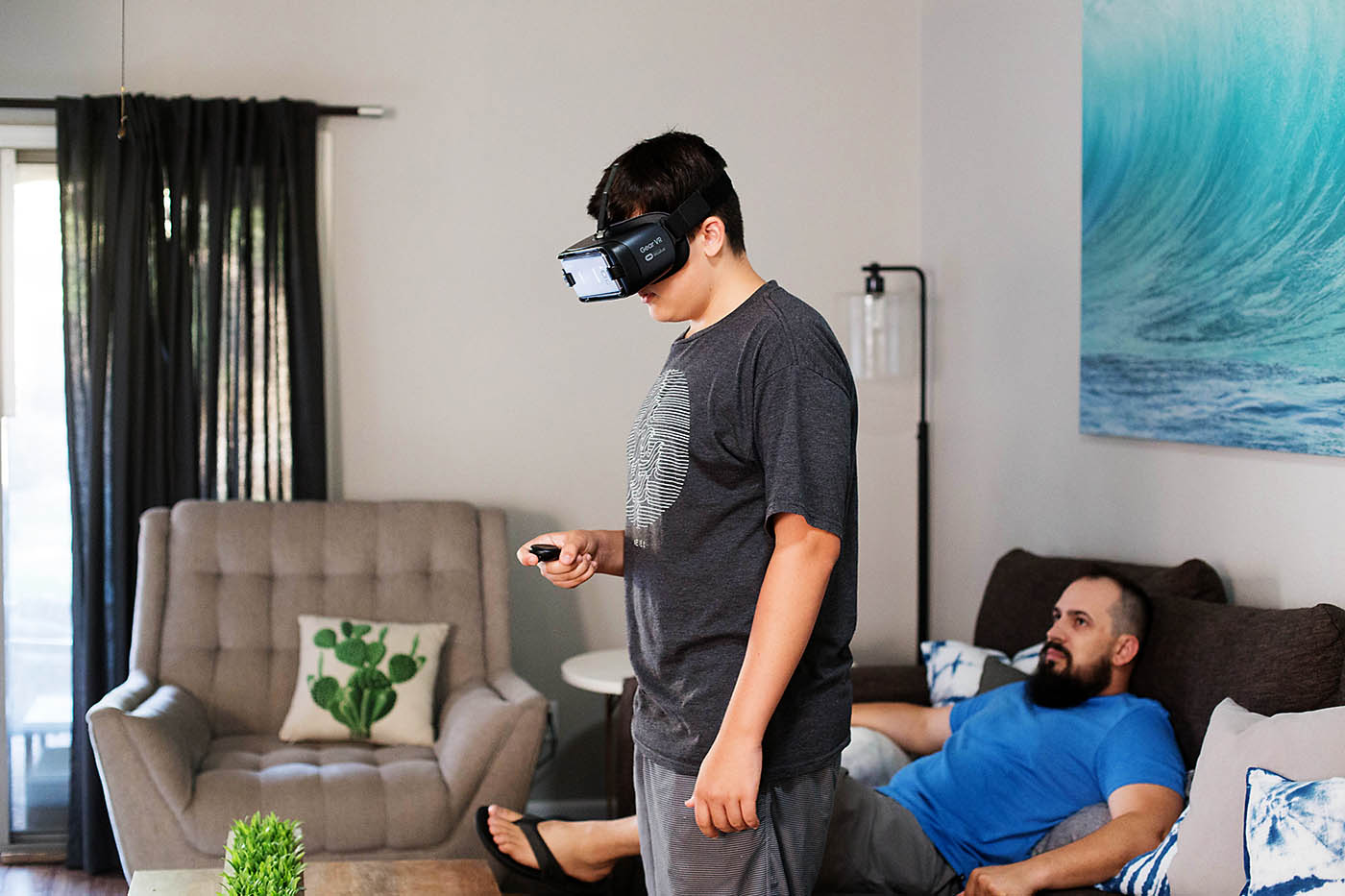 Bonding over technology with Intel True VR