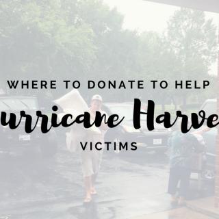 Where to donate to help Hurricane Harvey Victims