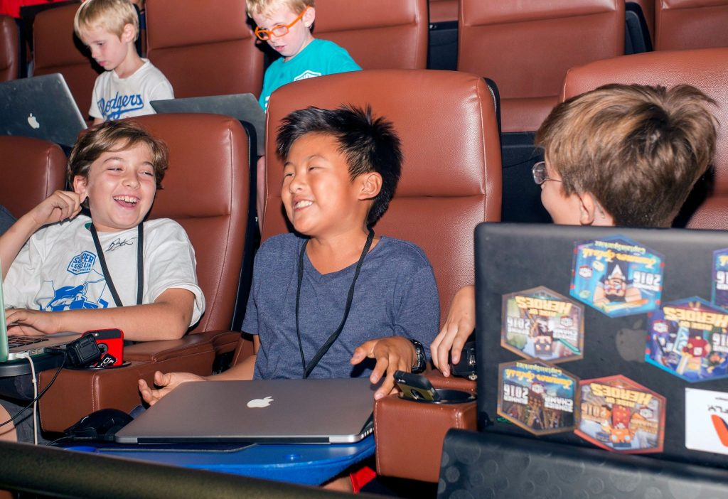 Play Minecraft in a Phoenix Movie Theater!