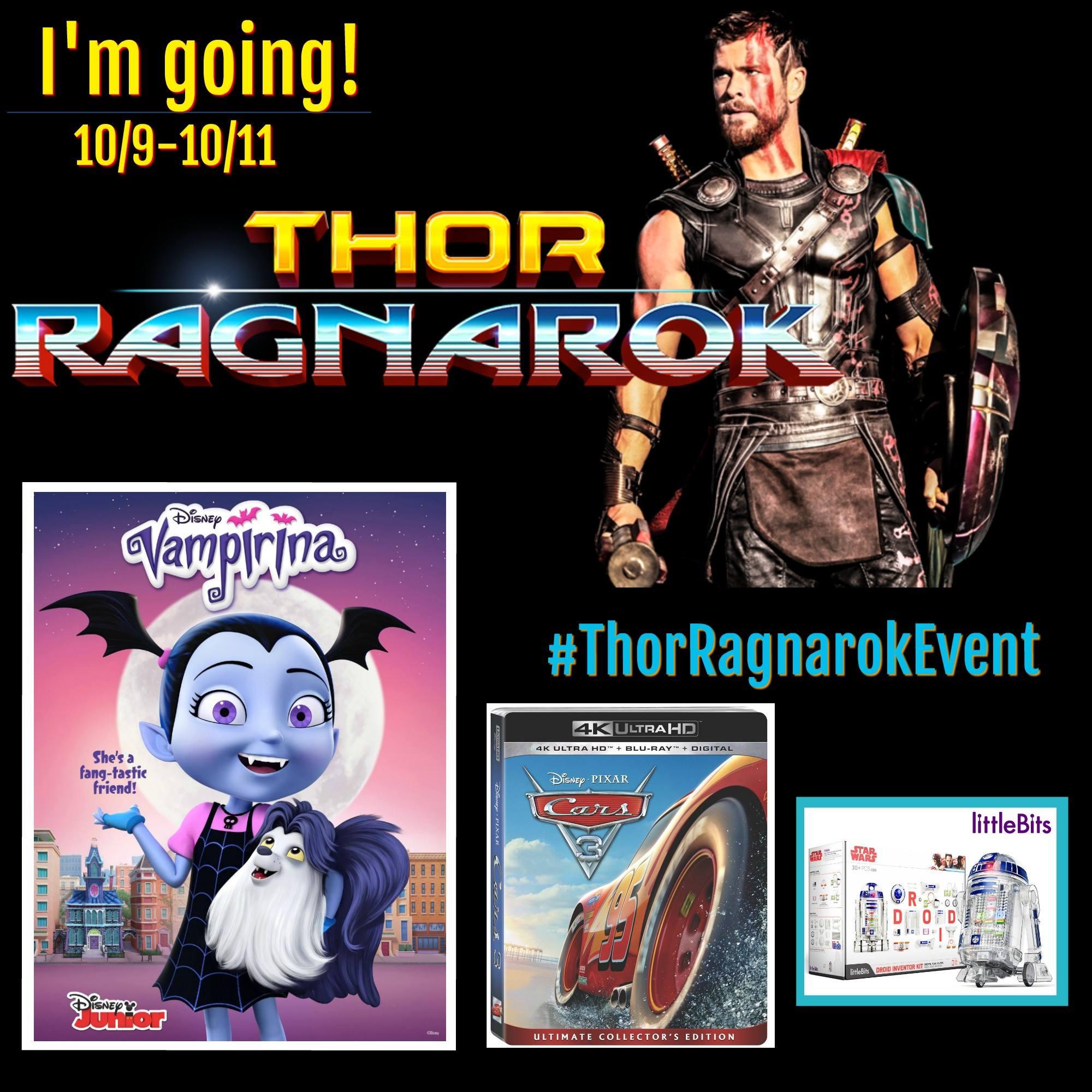 Attending #ThorRagnarokEvent