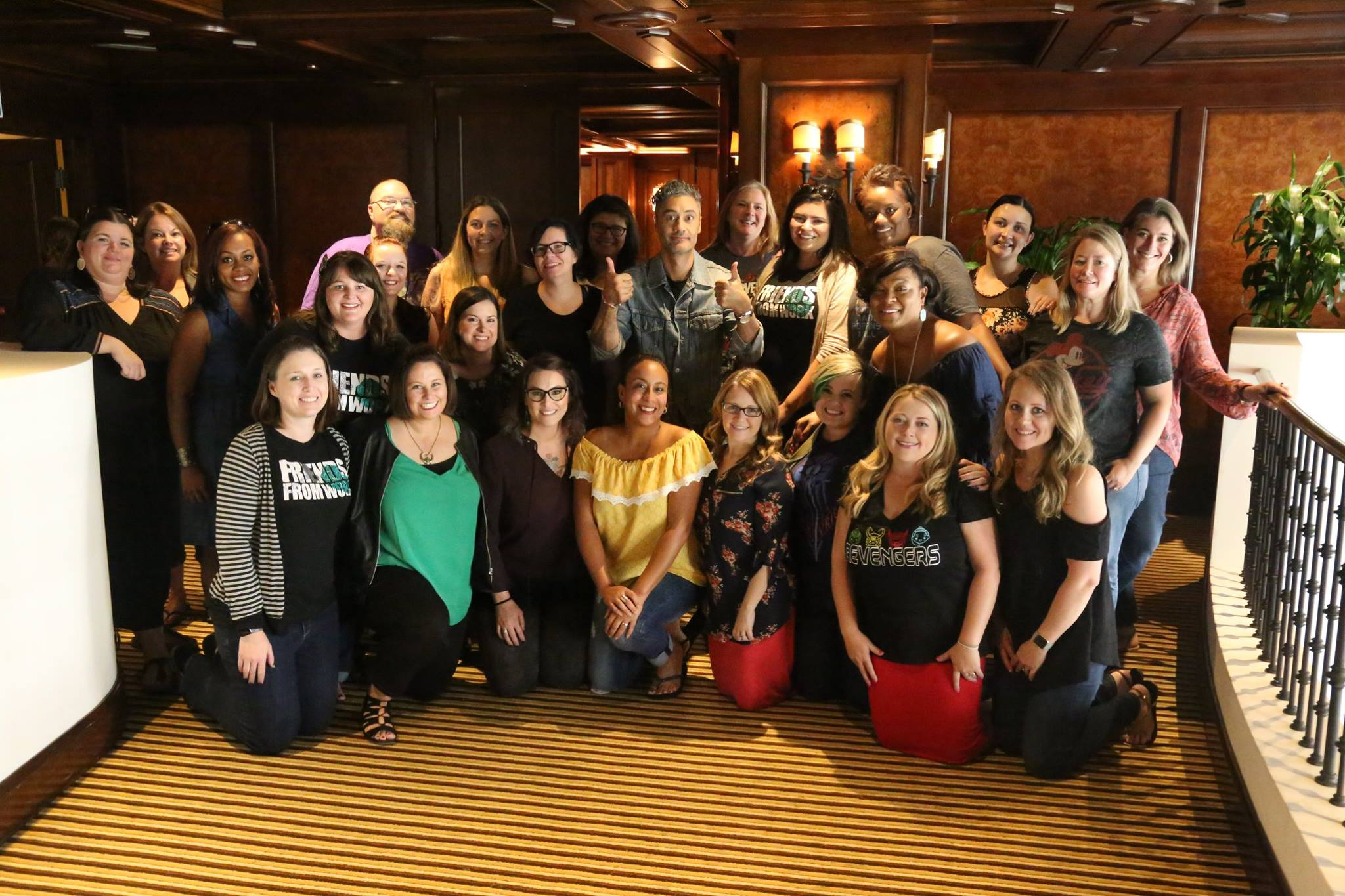 Take Waitit Director of Thor:Ragnarok with the #ThorRagnarokEvent bloggers