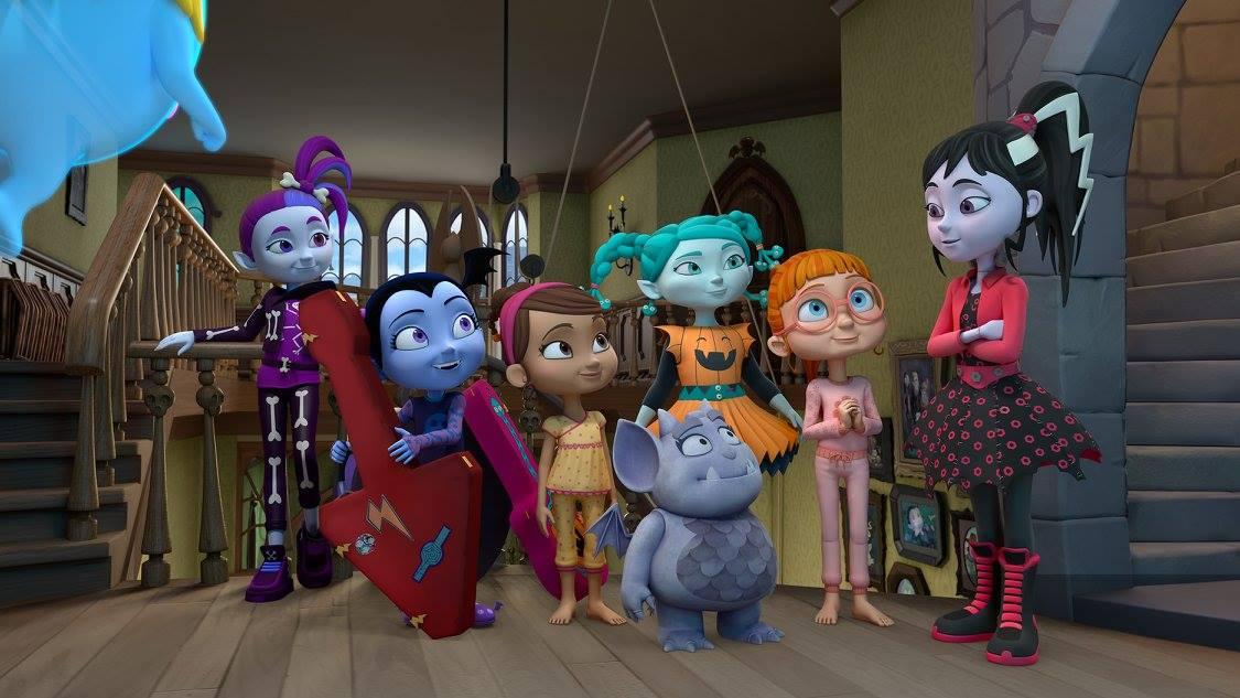 "VAMPIRINA - ""The Ghoul Girls"" (Disney Junior)GHASTLY GAYLEL, VAMPIRINA, POPPY, GREGORIA, CREEPY, BRIDGET, FRANKENSTACEY"