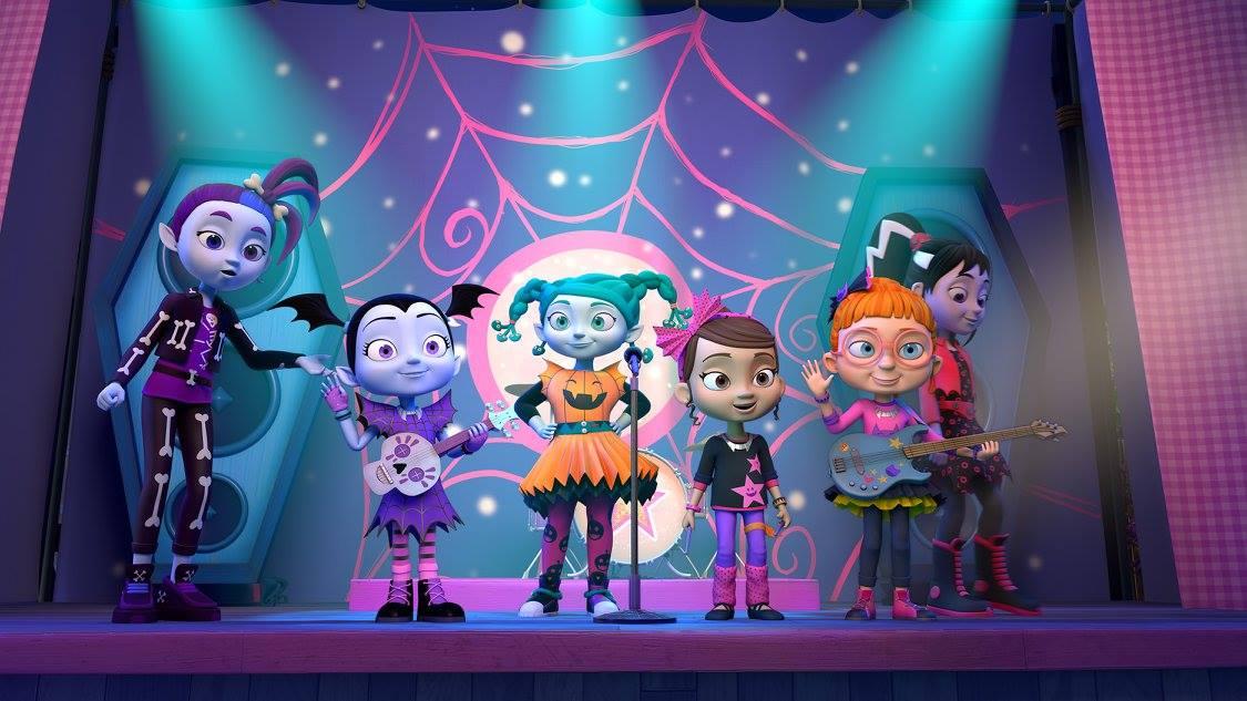 "VAMPIRINA - ""The Ghoul Girls"" (Disney Junior)GHASTLY GAYLEL, VAMPIRINA, CREEPY, POPPY, BRIDGET, FRANKENSTACEY"