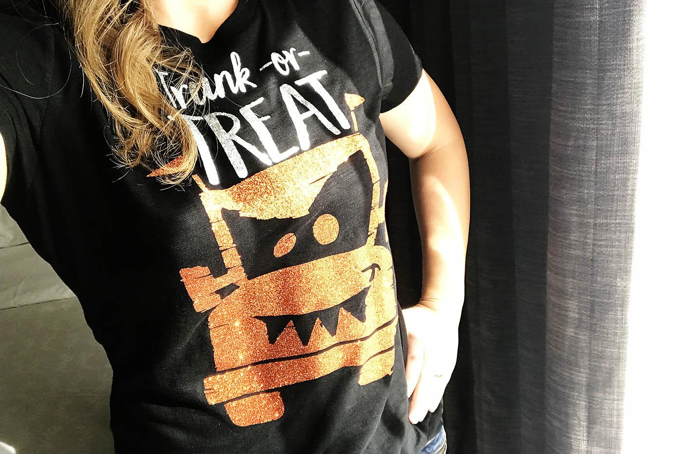 DIY Trunk or Treat shirts