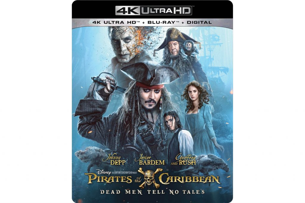 Pirates of the Caribbean: Dead Men Tell No Tales out Today!