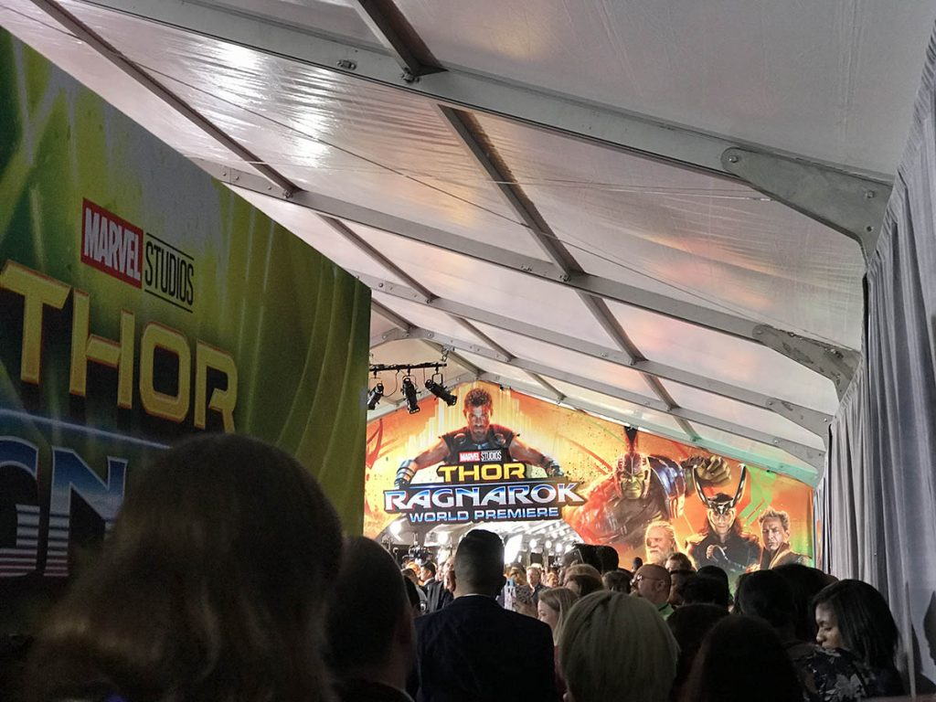 My THOR: RAGNAROK Red Carpet Experience for the #ThorRagnarokEvent