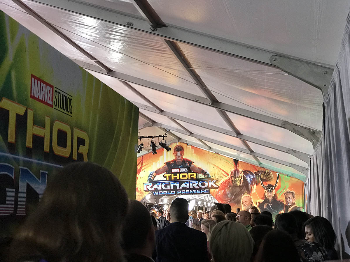 THOR: RAGNAROK red carpet premiere from allfortheboys.com