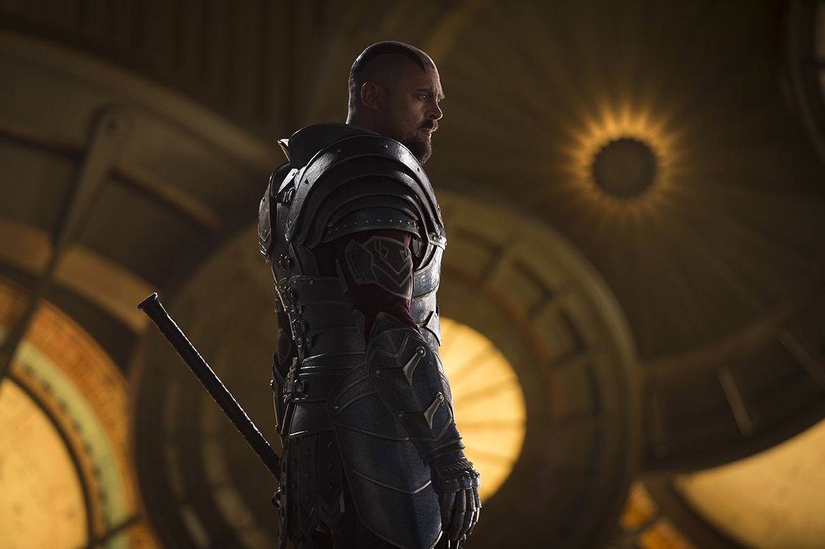 Marvel Studios Thor: Ragnarok..Skurge (Karl Urban)..Photo: Jasin Boland..©Marvel Studios 2017