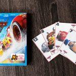 Cars 3 on Blu-ray and printable card game!