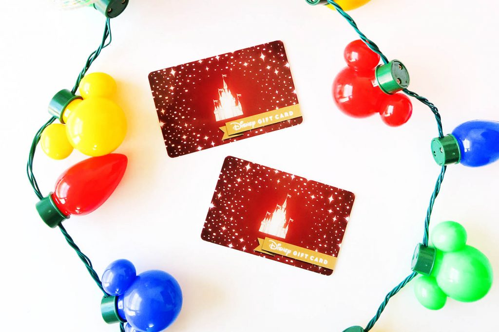Give the Gift of Disney Experiences + Disney Gift Card Giveaway!