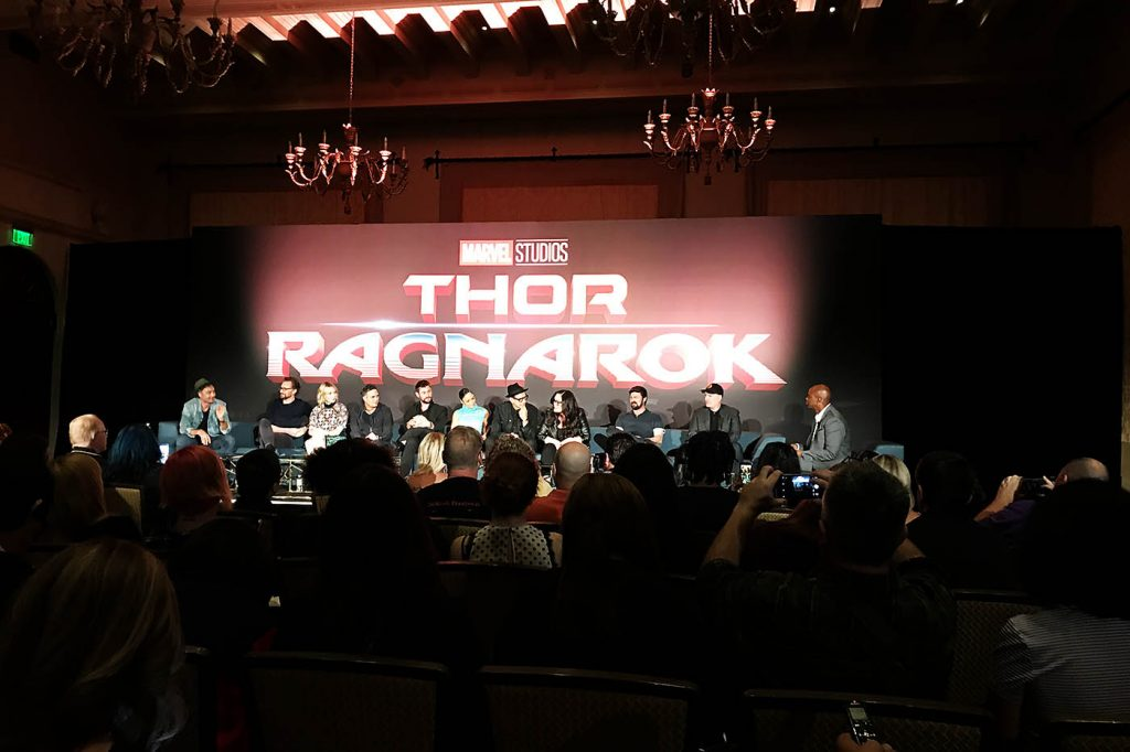 What are the THOR:RAGNAROK Actors Like Together? | #ThorRagnarokEvent